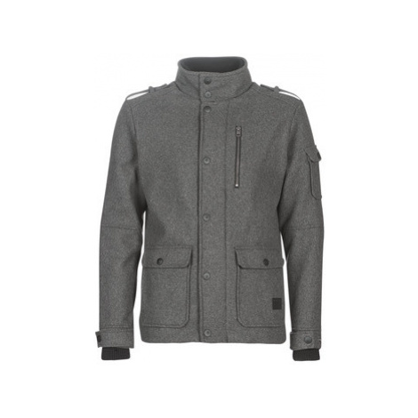 Jack Jones JCOJOEY men's Coat in Grey Jack & Jones