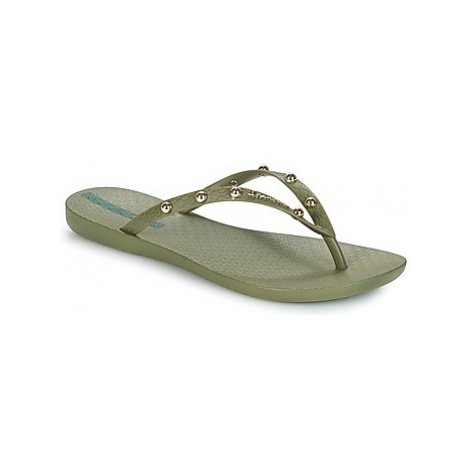 Ipanema WAVE GLAM women's Flip flops / Sandals (Shoes) in Green