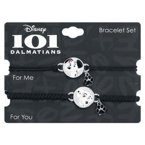 One Hundred And One Dalmatians - Pongo and Perdita - Bracelet Set - black