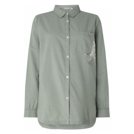 O'Neill LW MORI L/SLV SHIRT light green - Women's shirt