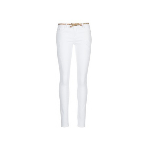 Kaporal POWER women's Skinny Jeans in White