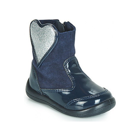 Gioseppo BUCKLAND girls's Children's Mid Boots in Blue