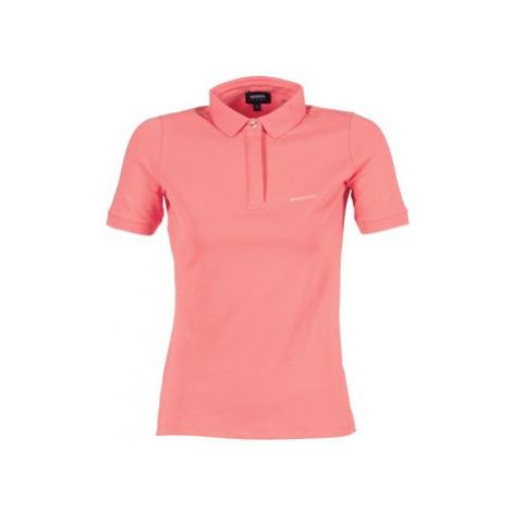 Armani jeans IMALORE women's Polo shirt in Pink