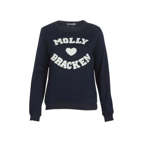 Molly Bracken MOLLIUKE women's Sweatshirt in Blue