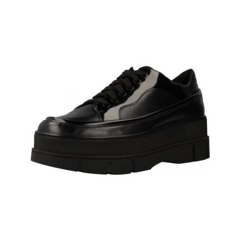 Geox D ROOSE women's Shoes (Trainers) in Black