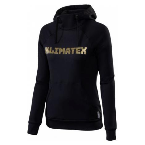 Klimatex ANUA black - Women's hoodie