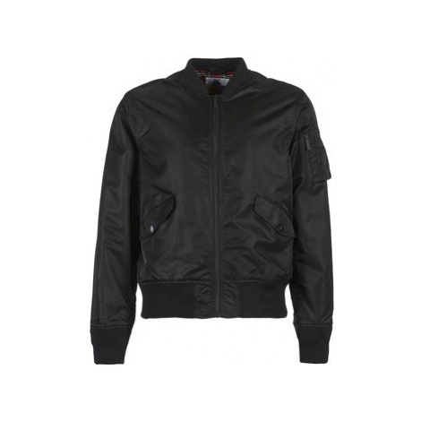 Harrington BOMBER MA1 men's Jacket in Black
