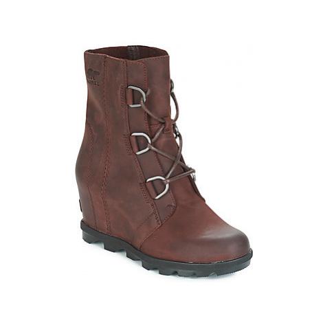 Sorel JOAN OF ARCTIC WEDGE II women's Snow boots in Brown