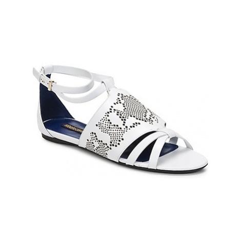 Roberto Cavalli TPS918 women's Sandals in White
