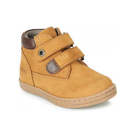 Kickers TACKEASY boys's Children's Mid Boots in Brown