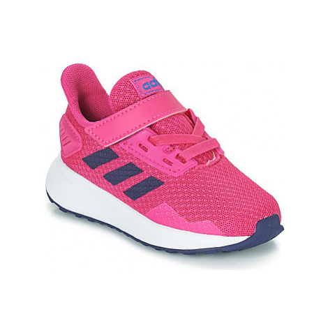 Adidas DURAMO 9 I girls's Children's Sports Trainers in Pink