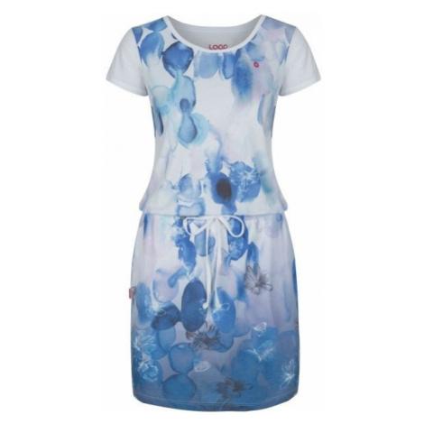 Loap ALKYRA blue - Women's dress