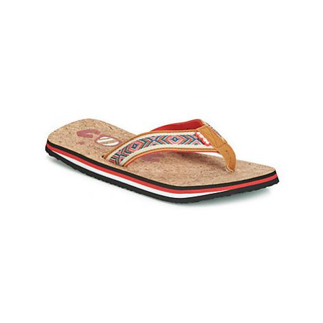 Cool shoe EVE SLIGHT women's Flip flops / Sandals (Shoes) in Brown