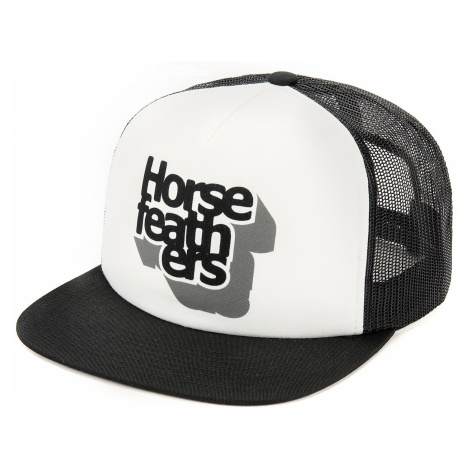 cap Horsefeathers Craps Trucker - White