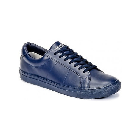 Hackett MYF STRATTON men's Shoes (Trainers) in Blue