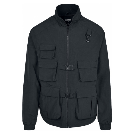 Urban Classics - Multi Pocket Nylon Jacket - Jacket - black