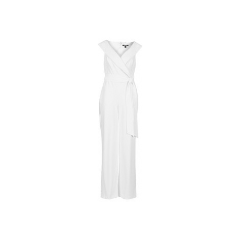 Lauren Ralph Lauren CREPE SLEEVELESS JUMPSUIT women's Jumpsuit in Beige