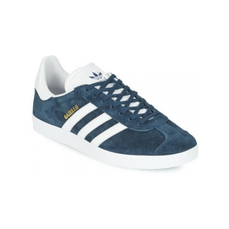 Adidas GAZELLE women's Shoes (Trainers) in Blue