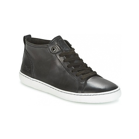 Kickers REVIEW women's Shoes (Trainers) in Black