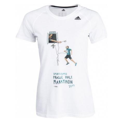 adidas PRIME 2.0 SS T white - Women's sports T-shirt