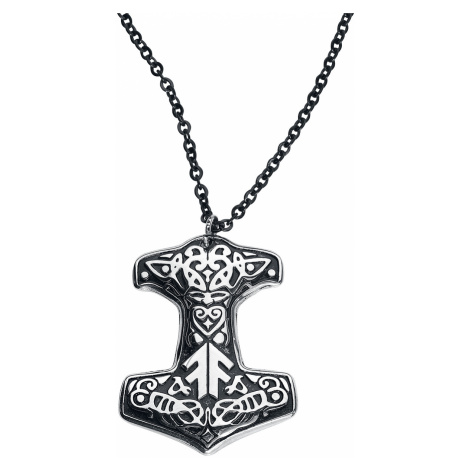 Amon Amarth - Thorhammer - Necklace - black-silver colours