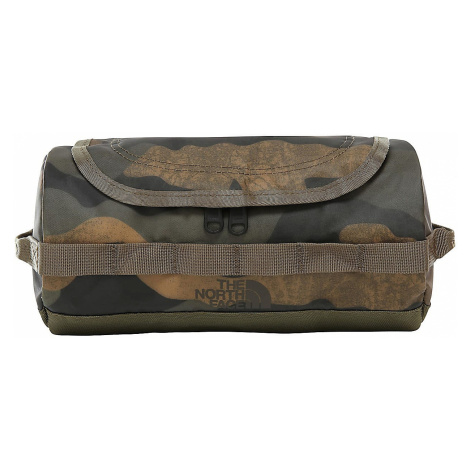 cosmetic bag The North Face BC Travel Canister S - Burnt Olive Green Waxed Camo Print/Burnt Oliv
