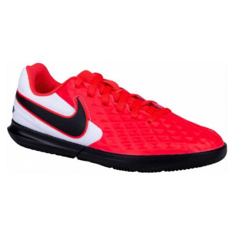 Nike JR TIEMPO LEGEND 8 CLUB IC red - Kids' football boots