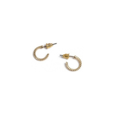 Mens Gold Hoop Earrings*, GOLD Topman
