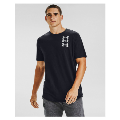 Under Armour Triple Stack Logo T-shirt Black