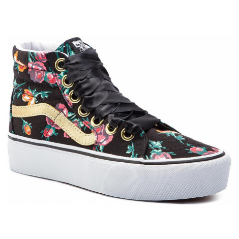 shoes Vans Sk8-Hi Platform 2 - Oversized Lace/Floral/True White