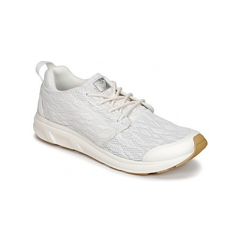 Roxy SET SESSION II J SHOE WHT women's Shoes (Trainers) in White