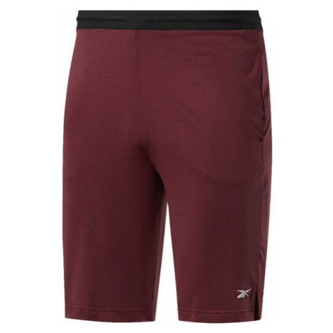 Reebok WORKOUT READY SHORTS wine - Men's sports shorts