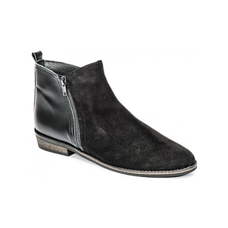So Size SERRAJE women's Mid Boots in Black