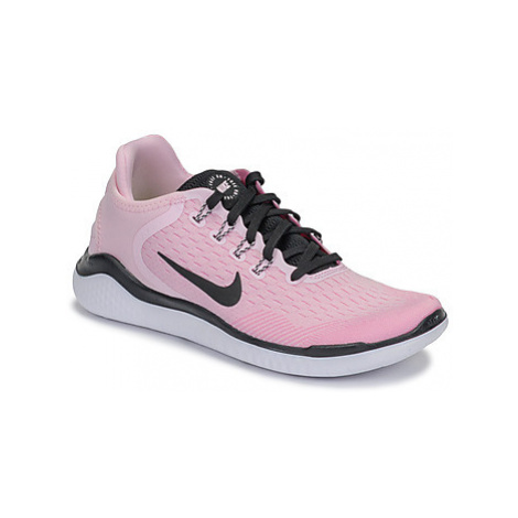 Nike FREE RN 2018 women's Running Trainers in Pink