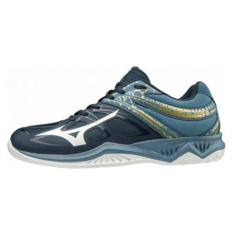 Mizuno THUNDER BLADE 2 blue - Men's indoor shoes
