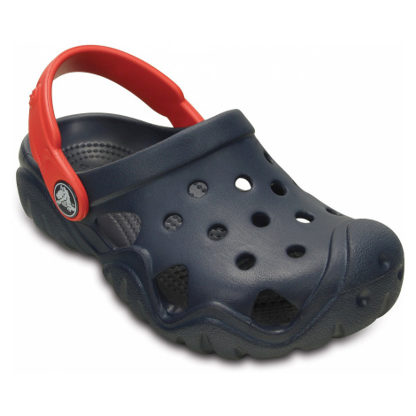 shoes Crocs Swiftwater Clog - Navy/Flame