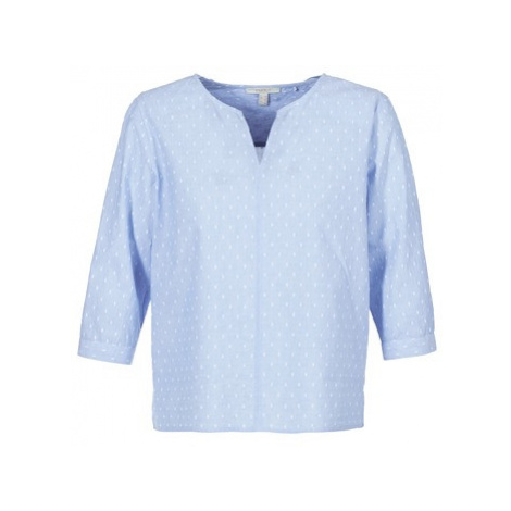Esprit QOZA women's Blouse in Blue