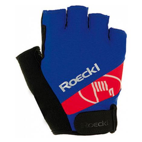 Roeckl NIZZA JR blue - Children's cycling gloves