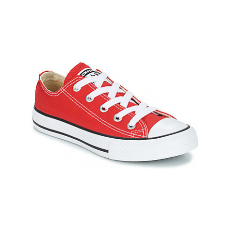 Converse ALL STAR OX girls's Children's Shoes (Trainers) in Red