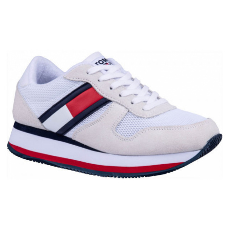 Tommy Hilfiger FLATFORM RUNNER COLOUR SNEAKER white - Women's leisure shoes