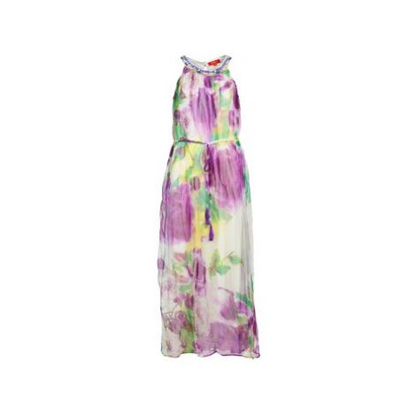 Derhy BLEUET women's Long Dress in Purple
