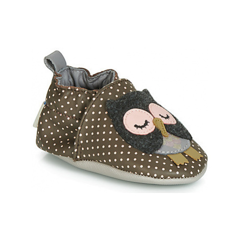 Robeez SUE girls's Baby Slippers in Brown