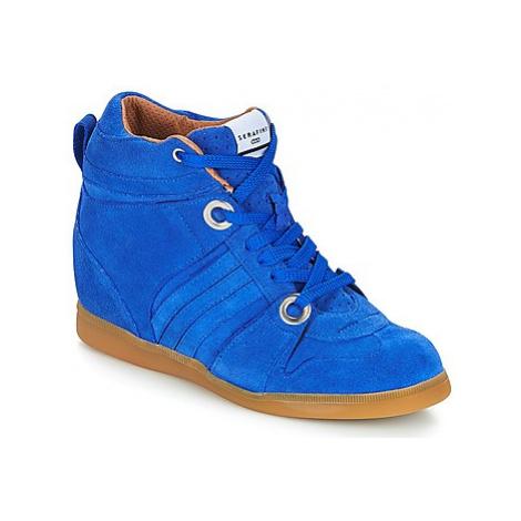 Serafini MANHATTAN women's Shoes (High-top Trainers) in Blue