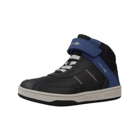 Geox MECE J MALTIN BOY boys's Children's Shoes (High-top Trainers) in Black
