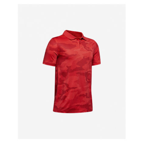 Under Armour Performance Kids Polo Shirt Red