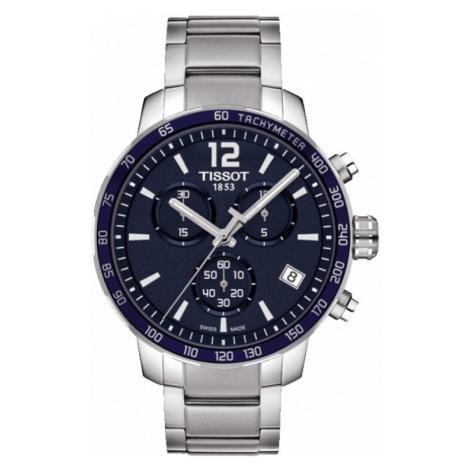 Mens Tissot Quickster Chronograph Watch T0954171104700