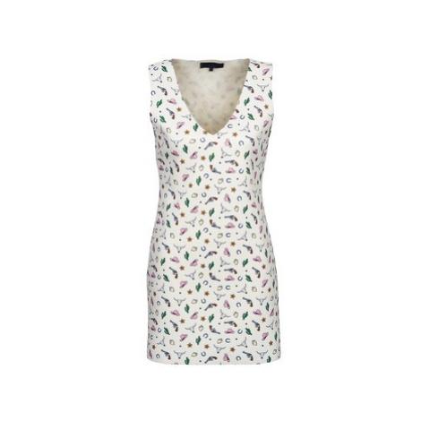 American Retro CAROLYN women's Dress in White