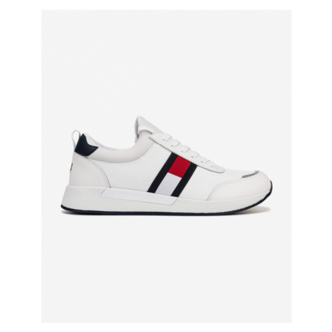 Tommy Jeans Flexi Lycra Runner Sneakers White Tommy Hilfiger