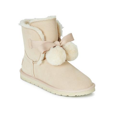 Esprit LUNA TOGGLE women's Mid Boots in Beige