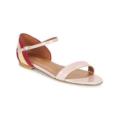 Heyraud ELISABETH women's Sandals in Pink